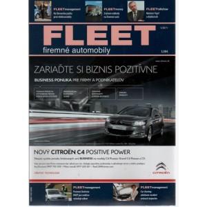 Fleet - firemné automobily 1/2011