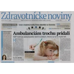 Zdravotnícke noviny 1/2012