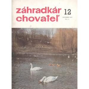 Záhradkár chovateľ 12/1974