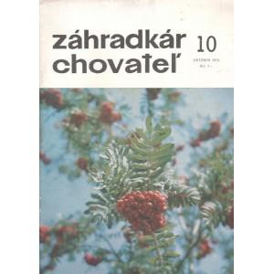 Záhradkár chovateľ 10/1974