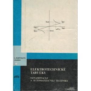 Hartmann L. a kol.: Elektrotechnické tabuľky oznamovacej a automatizačnej techniky  (T4)