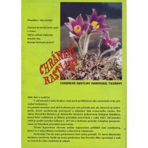 Chránené rastliny Manínskej tiesňavy