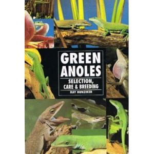 Hunziker Ray: Green Anoles (Selection, Care & Breeding)