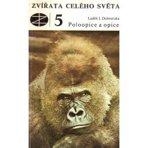 Dobroruka J. Luděk: Zvířata celého světa - Poloopice a opice (A5)