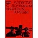 Husák Gustáv: Svedectvo o Slovenskom Národnom Povstaní (PSĽ5)