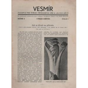Vesmír 1-10/1931-1932