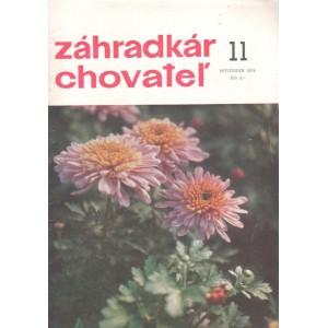 Záhradkár chovateľ 11/1974