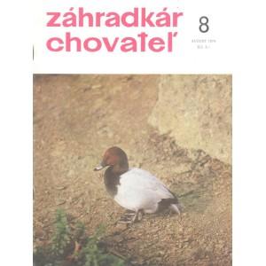Záhradkár chovateľ 8/1974