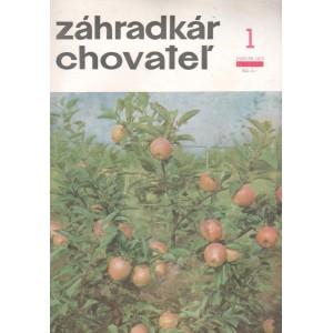 Záhradkár chovateľ 1/1972