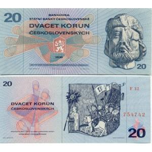 20 Kčs (1970)