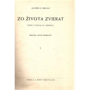 Brehm: Zo života zvierat /podľa vydania B. Merkera/