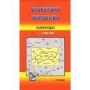 Automapa Slovenská republika