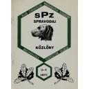 Klub Chovateľov Maďarských Stavačov - KÖZLÖNY Magyarviszla Tenyésztók klubja 3-4/1977